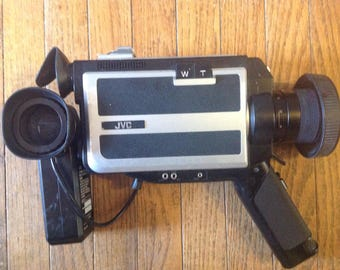 JVC Video Camera, Video Camera, Film, Recorder, Home Movies, Video Cassette, VCR
