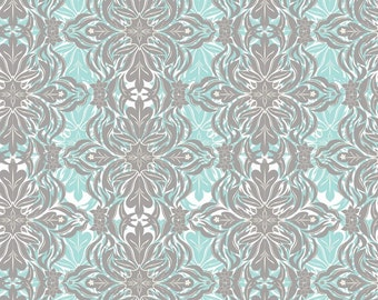 SALE - Modern Lace blue (118.101.04.2) - Modern Eclectic Collection by Khristian Howell - Blend Fabrics - 1 yard