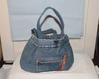 Jean Bucket Bag