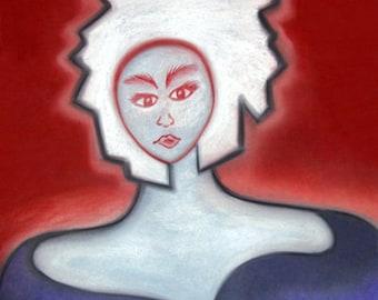 Sacha - Light of Truth 70 x 90cm Quality Print on Canvas