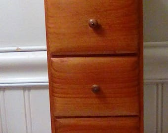 Vermont Hanging Spice cabinet / Manchester Wood by Louise Thompson