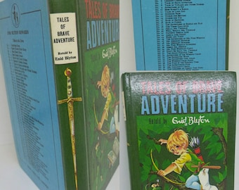 Enid Blytons Tales of Brave Adventure. In extremely good condition. Published by Dean and Son. 1963 Edition