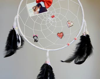 CUSTOM Dreamcatcher! - Protective charm, feathers, legend, dreams, mother's day