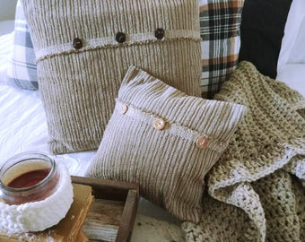 Pillow Cover/Chenille