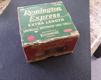 Vintage Remington Ammo Box