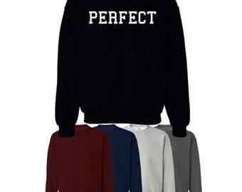 Perfect Jumper Sweatshirt College Gift Womens Mens UK Ships Worldwide S-XXL