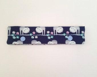Sloth DPN holder, knitting needle case, DPN case, double pointed needle holder, knitting needle cozy, DPN holder