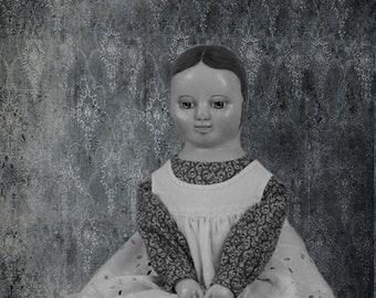 Izannah Walker reproduction  doll
