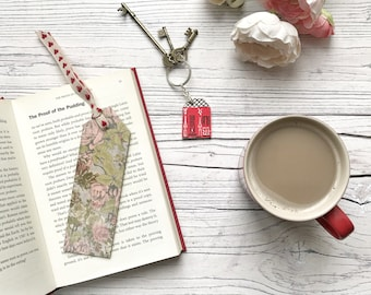 Floral wooden Bookmark | Oak Bookmark | Gift for Book Lover | Gift for Bookworm | Thank You Gift | Teacher Gift | Thank you teacher gift