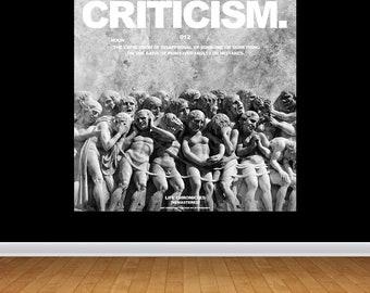 CRITICISM [012] - 'Life Chronicles' Print