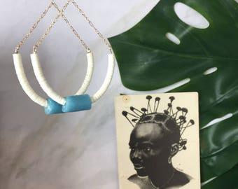 Temitayo tribal earrings  African Wedding Ethnic Jewelry Tribal Jewelry Bohemian African Jewerly Ethnic Earrings Tribal Earrings African
