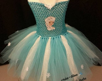 Snow Queen tulle dress
