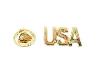 USA ~ Lapel Pin/Brooch ~ AG1000MP