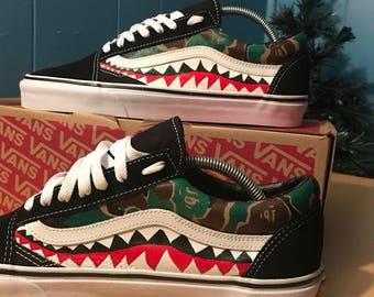 Custom Bape x vans