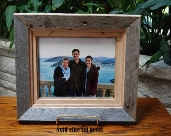 Reclaimed Wood Frame Etsy