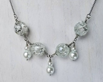 Clarity Love Bridal Necklace