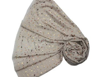 Beautiful Rose Gold Triangle Scarf