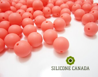 9mm - Lot of 10 Sour Candy Loose Silicone Beads