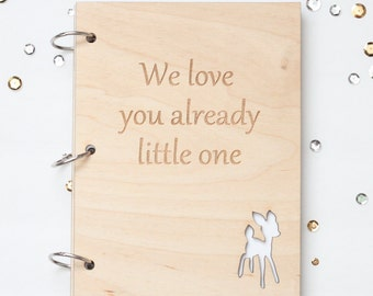 Little deer  baby journal