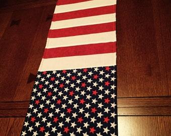 Flag table runner