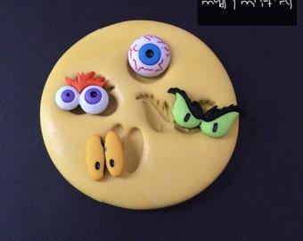 Crazy Eyes Silicone Mold