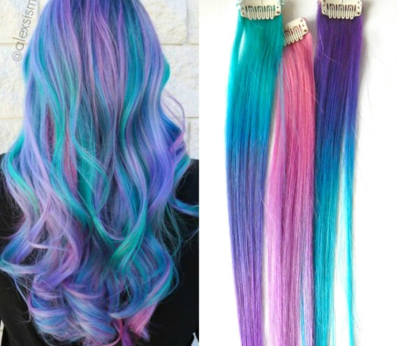 mermaid ombre hair extensions cotton candy ombre hair hair. Black Bedroom Furniture Sets. Home Design Ideas