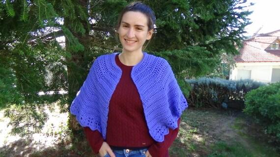 Crochet Pattern Cosy Shawl Crochet Easy Shawl Easy