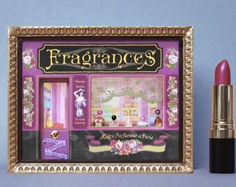 Showcase Miniature perfume