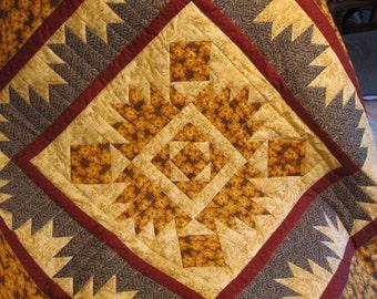 Thimbleberrie Bear Paw Quilt