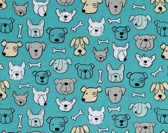 Dog fabric by clothworks