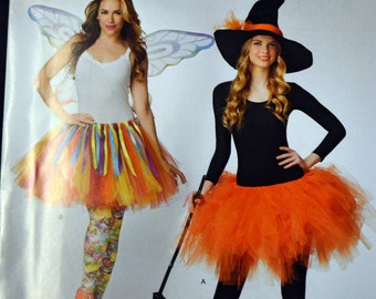 Costume Sewing Pattern Simplicity 0320 Misses' Tutu Skirts  UNCUT Complete