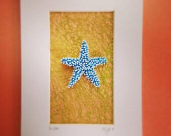 Bead Embroidered Seastar