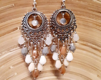 Bohemian earrings Nature.