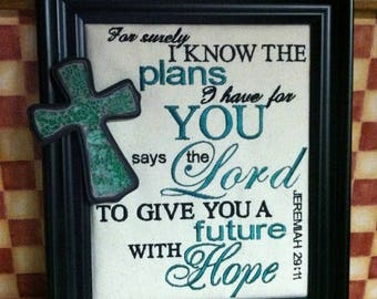 Embroidery Bible Verse