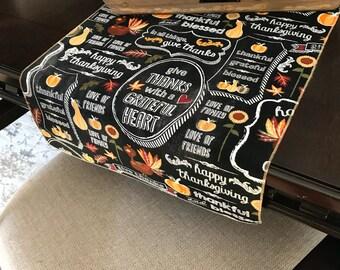 Thanksgiving Table Runner | Thanksgiving Table Decor | Thanks Giving Table Runner | Turkey Table Runner | Thanksgiving Decorations
