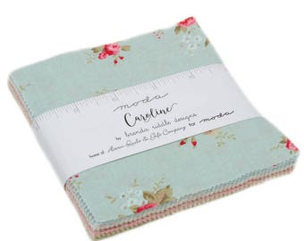 Moda Caroline Charm Pack by Abi Hall New Fabric Just Arrived