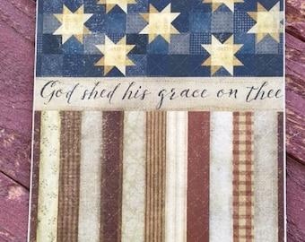 Americana O' Beautiful Print