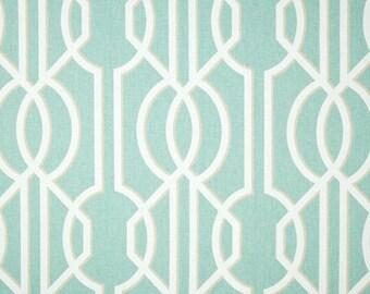 Deco Spa cotton fabric by the yard lattice Magnolia Home Fashions