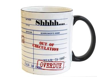 Shhh...Librarian Coffee Mug