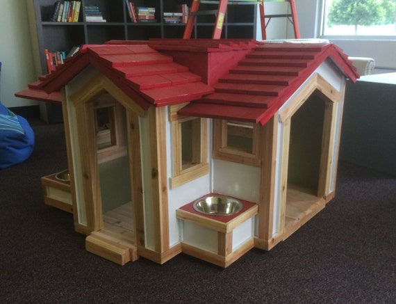 this charming dog house
