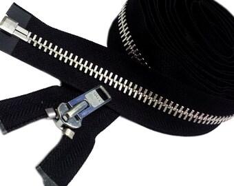 Extra Heavy Duty YKK#8  Aluminum Chaps Separating Zipper~ Pick your length for your Heavy Jacket Zipper