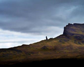 Scotland Photography  | Old Man of Storr | Isle of Skye | Scotland Landscape | Scottish Hebrides | Scottish Landscape | Mounted Print