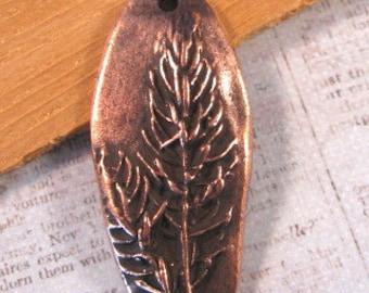 Denali Pendant in Antique Copper from Nunn Design-1 count