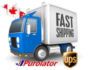 Fast shipping to Canada - Upgrade Shipping Canada - Carrier shipping - UPS shipping - Purolator shipping - Canpar shipping