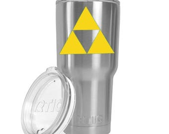 Zelda Tri Force Decal vinyl- perfect gift for any gamer