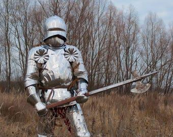 German Knight's, French Knight's, American Medieva, ナイトの鎧, Armure Du Chevalier, Medieval Reenactors, Rüstung für Bugurt, Medieval Brigandine