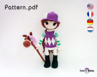 Pattern - Jade and her jockey Outfit