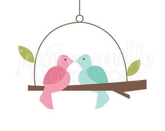 love bird clipart etsy rh etsy com lovebird clipart love bird clipart free
