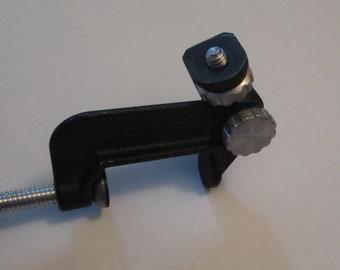 CLAMPETTE Vintage C-Clamp Desktop Mount Holder Stand for SLR Camera Photography Equipment