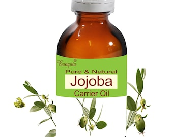 Jojoba Oil-  Pure & Natural  Carrier Oil